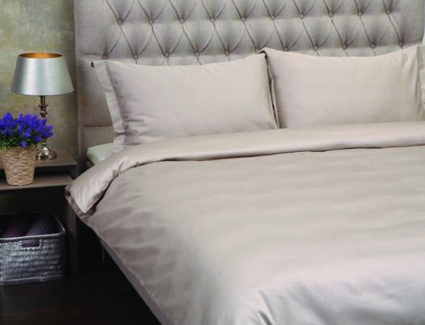 Bomuldssatin sengetøj -Luksus sengetøj
