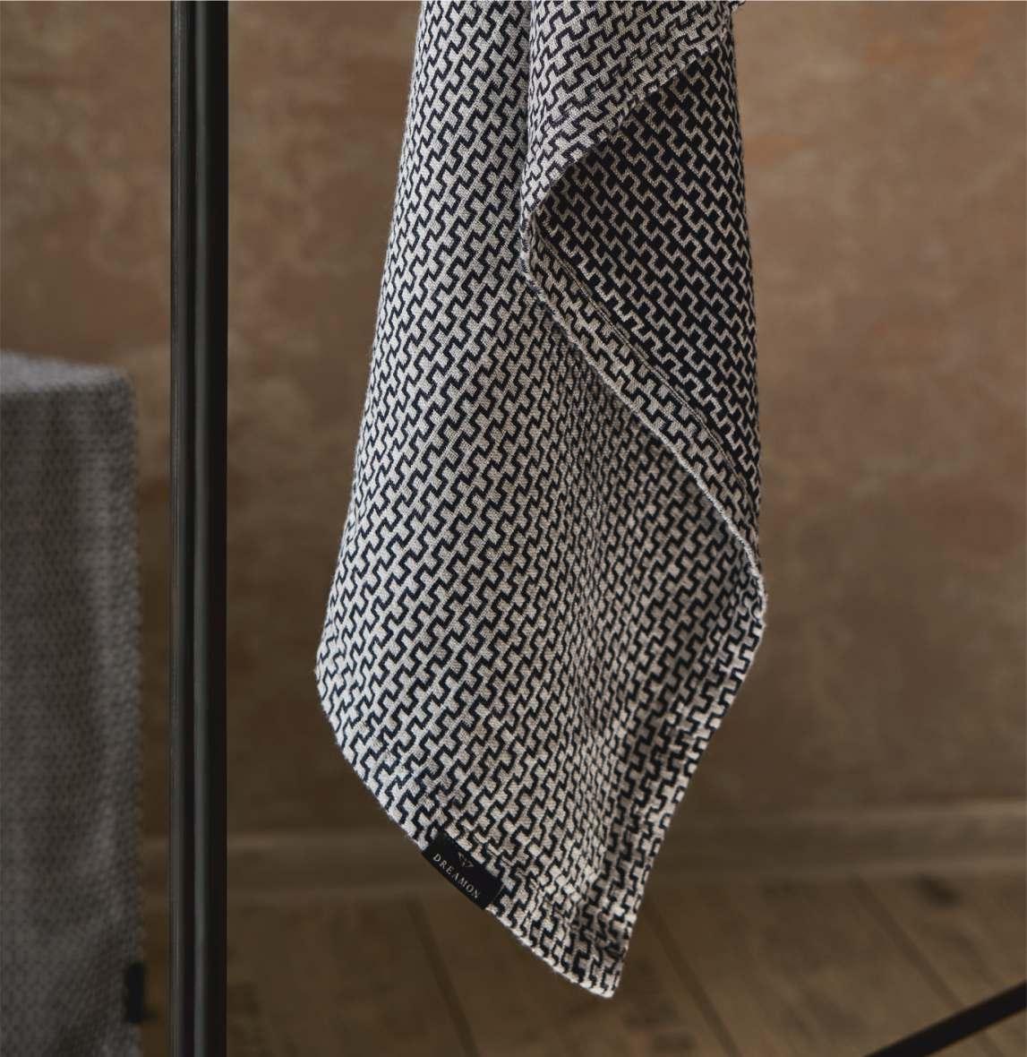 Image of Labyrinth køkkenhåndklæde