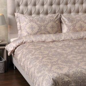 Bomuldssatin sengetøj