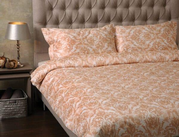 blomstret sengetøj