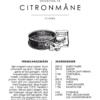 Citronmåne opskrift - Kage guide plakat - Indram din citronmåne opskrift