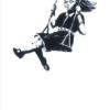 Girl on swing - Banksy plakat - Girl on swing - Banksy plakat
