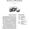 Macarons opskrift - Kage guide plakat - Indram dine macarons opskrift