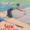 Sun Valley - Retro plakat -