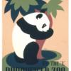 Zoo plakat - Panda 2 -